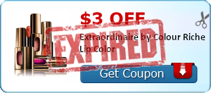 $3.00 off Extraordinaire by Colour Riche Lip Color