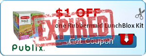 $1.00 off one Rubbermaid LunchBlox Kit