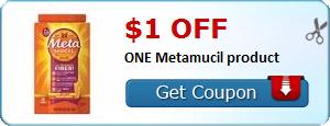 $1.00 off ONE Metamucil product