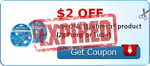 $2.00 OFF any ONE (1) abreva® product (2g Pump or Tube)