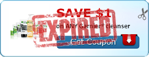 SAVE $1.00 on ANY Garnier® cleanser