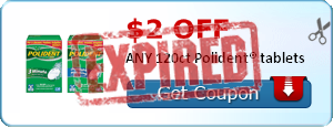$2.00 OFF ANY 120ct Polident® tablets